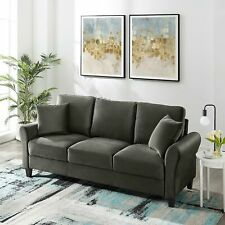 Tribesigns 3 Seat Sofa Couch for Home Living Room Easy to Assemble Sofa Couch
