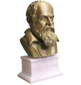 Galileo Galilei 3D Printed Bust Famous Italian Astronomer Art FREE SHIP