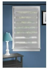 ASSORTED SIZE  Achim Grey Cordless Light Filtering Double Layered Privacy Shade