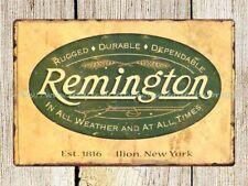 remington firearm rifle gun ammo metal tin sign posters and prints