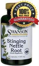 Stinging Nettle Root 500 mg x 100 Capsules (Urtica dioica) ** AMAZING PRICE **