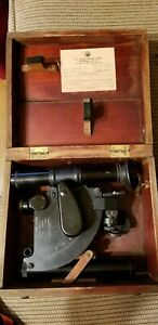 WW2 Naval Ball Recording Sextant.Mark 1 Model 0. US Navy