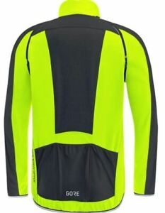"GORE C3 GORE WINDSTOPPER Jacket-Yellow-Chest 46""-Length 27""-5483"