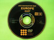 DVD NAVIGATION TNS 600 700 OSTEUROPA TÜRKEI 2015 TOYOTA COROLLA HILUX MR2 LEXUS