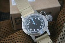 U.S.N. BU Ships Canteen Navy Military Diver Wrist Watch *reissue