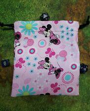 Minnie Mouse dice bag, card bag, makeup bag
