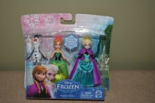 Disney Frozen Sisters, Ana, Elsa & Olaf Figure Giftset New In Package