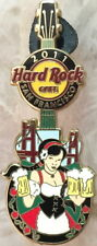 Hard Rock Cafe SAN FRANCISCO 2011 BEER Festival PIN Hot Girl Holding Mugs GUITAR