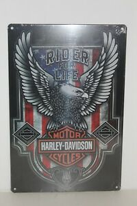 HDMS23 Harley - Davidson  Metal Sign New 30 cm H X 20 cm W