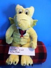 Cambria Yellow Dragon beanbag plush(310-2729)