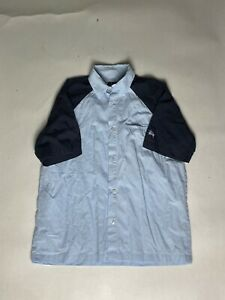 Vintage 90s Stussy bowling shirt - Medium