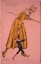 """Cartolina Vintage PostCard M.DUDOVICH, """"Zenit"""" - Viaggiata, anno 1917 - RARA -"""