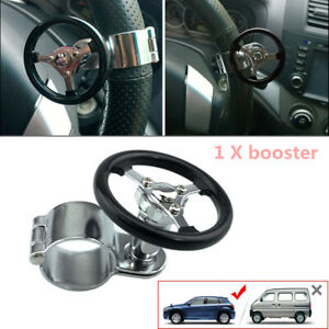 Car Quick Steering Wheel ball Suicide Knob Power Spinner Stainless Steel Booster