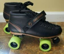 Jackson Competitor Power Transfer Quad Speed Roller Derby Skates 9.5 Pilot viper