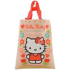 Official Hello Kitty Mini Tote Shopping Book Bag - Super Cute Girls School Bag