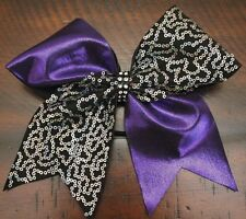 Nike Just Do It Black Mystique Cheer Hair Bow