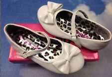 Josmo White Patent V Closure Flat Mary Janes Dress Shoes Toddler Size 5, 7, 8