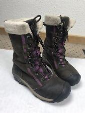 Keen Women's Hoodoo Tall Warm Waterproof Winter Leather Snow Boots Sz US 7