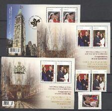 Kate, William, Royal Wedding - Kanada - ** MNH 2011
