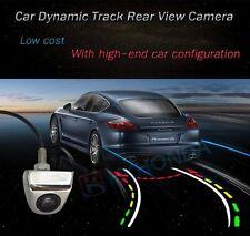 Silver Color Car Dynamic Track Trail Trajectory Rear View Reverse CCD Camera Kit