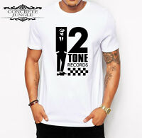 2 TONE RECORDS T-SHIRT_RUDE BOY_SKA_THE SPECIALS_THE SELECTER_MADNESS_THE BEAT