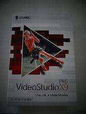 Corel VideoStudio Pro X9 Cd-Rom Pc Sealed Brand New