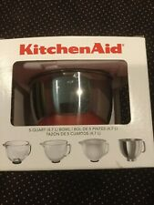 KitchenAid 5qt Stainless Bowl w/Non-sealing Cover K5GB, No Lid