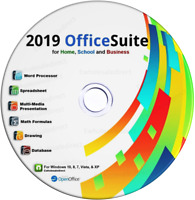 2019 Office Suite Software CD Home Student Business for Microsoft Windows
