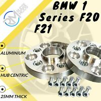 5x120 25mm ALLOY Hubcentric Wheel Spacers to fit BMW 1 Series F20 F21