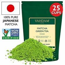 VAHDAM, Thé Vert Matcha  Poudre de thé matcha   100% PURE, Orig. Japonaise   1