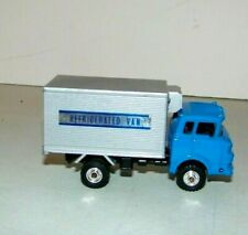 Shinsei Mini Power Die Cast GMC Cab Over Refrigeerated Van Truck Made Japan