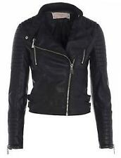 Zara Faux Leather Biker Jackets for Women