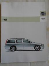 Volvo V70 brochure 2005 German text