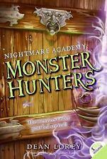 Monster Hunters (Nightmare Academy, No. 1), Lorey, Dean, 0061340448, Book, Accep