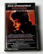 Rick Springfield / Hard To Hold-Soundtrack Recording cassette 1984 West Germany