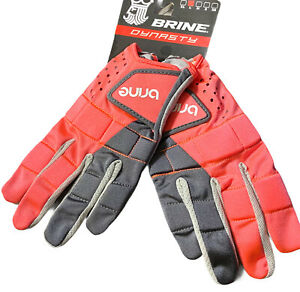 Brine Dynasty Lacrosse Gloves Womens Large Dragonfly Color New With Tags NWT