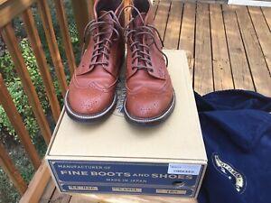 John Lofgren Glover Brogue boots, size 10.5, $890 retail