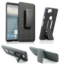 """for 6"""" Google Pixel 2 XL Case Belt Clip Holster 2 Kickstand Slip Resistant Cover"""