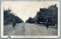 BROOKLYN NY BENSONHURST 22nd AVENUE ANTIQUE POSTCARD