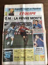 Journal l'Equipe - 2 Avril 1990 - 45 eme année - n 13656