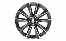 "Original SKODA aloy wheel SAVIO 7.0J x 17"" 5JA071497C ZG6"