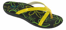 2 Pair Scholl Yellow Biomechanics Orthaheel Women's Sandals Set Size 36 Holiday