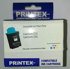 CARTOUCHE ENCRE REMANUFACTURE LEXMARK Z12 Z32      compatible
