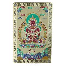 Feng Shui Amitayus Buddha Talisman Card