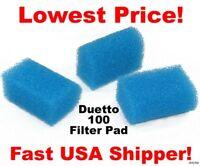 15 Biological Filter Sponge Pad for Marineland Duetto 100 / DJ-100