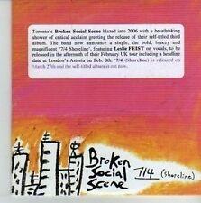 (CV266) Broken Social Scene, 7/4 (Shoreline) - 2006 DJ CD