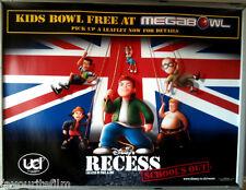 Cinema Poster: RECESS - SCHOOL'S OUT 2003 (Glossy 'Bowl' Quad) Walt Disney
