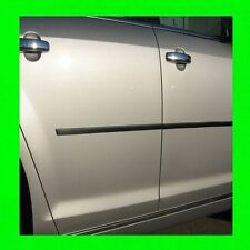 VOLKSWAGEN CARBON FIBER SIDE DOOR TRIM MOLDING 4PC W/5YR WARRANTY