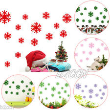Wall Sticker Frozen Snow Flakes Removable Vinyl Art Window Stickers Wall Decal