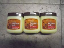 New  3PK PERSONAL CARE 100% Pure PETROLEUM JELLYCocoa Butter Scent